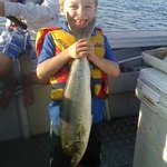 never to young to fish