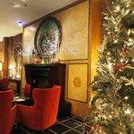 Lobby at Christmas