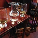 Check out some old books in the lounge while enjoying some whisky