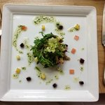 The food is beautifully presented (and mighty delicious). They'll accommodate dietary restrictio