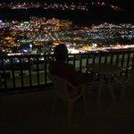Fantastisk udsigt fra balkonen
