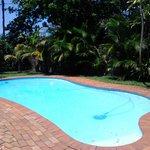 Pool und Garten - sehr schön