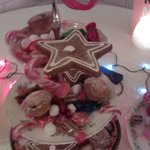Christmas sweets tray