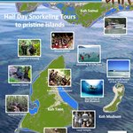 Half day snorkeling adventure tour to Koh Taen