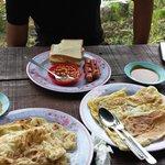 roti canai from kiram's canteen