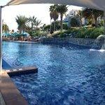 Pool at beach level