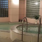 Onsen at the hotel, great after skiing all day!