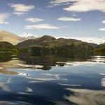 Glendu Bay, its like this ALOT!