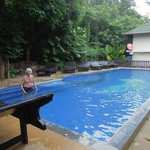 klein, maar fijn zwembad