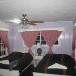 Purple cabana