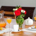 Braai area / Breakfast