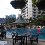 Fairmont Singapore, бассейн