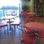 breakfast sitting area