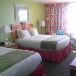 two queen beds ocean front