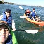 Family kayak adventure with SLKA