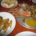 lobster dinner....the best since my days in Boston