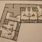 Floor Plan of our wing