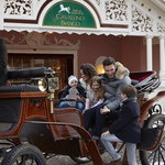 Horse drawn coach ride for the family