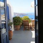 Tür zur eigenen Terrasse