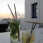 abendliche Cocktails auf der eigenen Terrasse