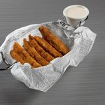 What isn't good fried? Try our deep fried pickle spears appetizer!