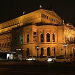 Alte Oper Seitenansicht