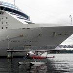 Docks near your ship!