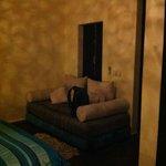 divanetto stanza Zaffiro