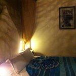 letto stanza Zaffiro