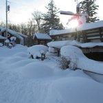 December snow in Lowville