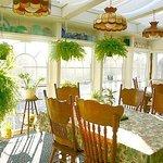 Breakfast room over looks Contoocook River