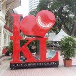 I love Kl with hari raya aidilfitri greetings.