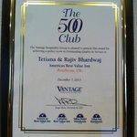 club 500 award