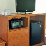 Microwave & Refrigerator in Every Guest Room
