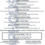 Pizza & Sandwiches