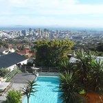 Blick auf Cape Town