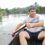 paseo en canoa río