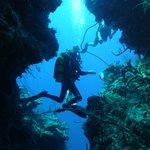 grotte sous marine