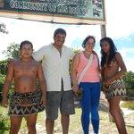 visita a tribu aborigen Bora