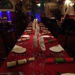 Christmas dinning