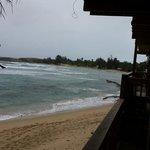 Vista a la playa de jobos