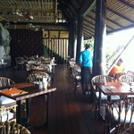 Top restaurant, sea view, Marina's resort restaurant