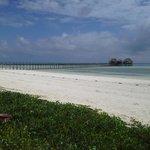 spiaggia e pontile riservati
