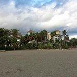 Marriott Playa Andaluza - from beach