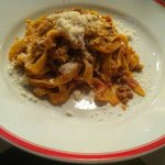 Minced beef hand-made tagliatelle