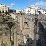 de brug over de kloof in Ronda