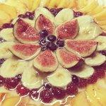 Torta alla frutta made in bacca blu