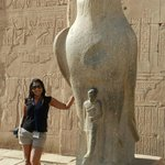 Me and my friend, Horus