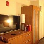TV and Closet