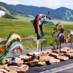 Colorful Sculpture Trail
